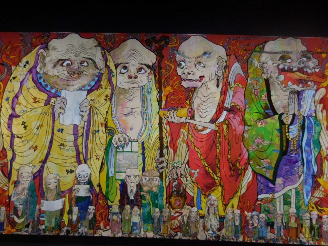 六本木 森美術館・村上隆氏の「五百羅漢図展」
