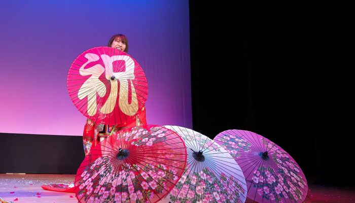 新春イベント・お祭りに和風マジック