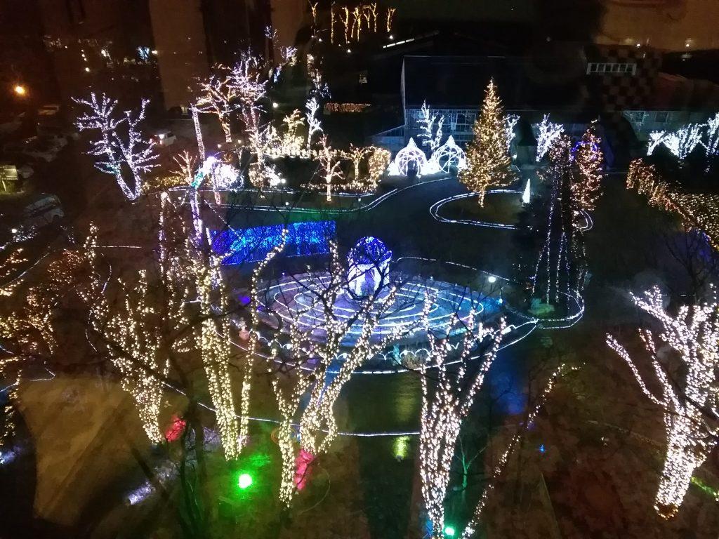 ホテルサンバレー那須 クリスマスマジック