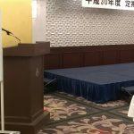 昭島にてステージ&テーブルマジック