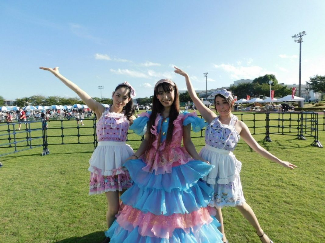 三重県鈴鹿 HONDA祭りでイリュージョンマジック