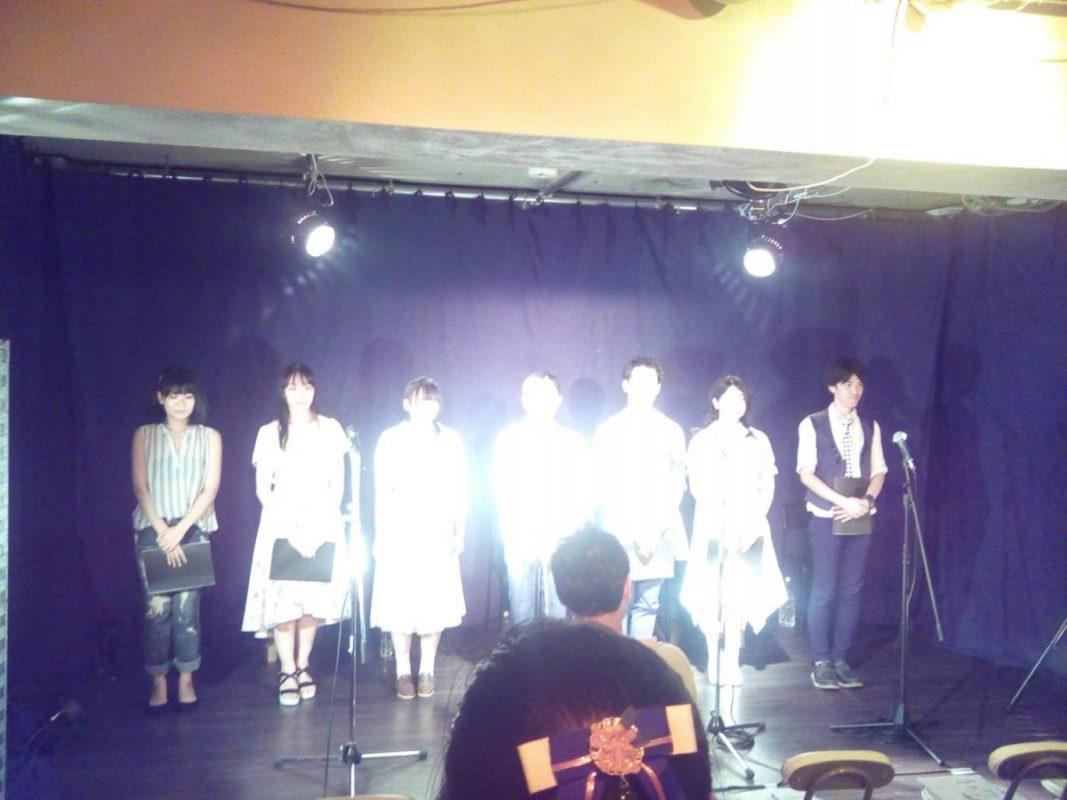新井薬師にてオフィス怪人社主催の朗読劇「ぼいすらいぶ」観劇